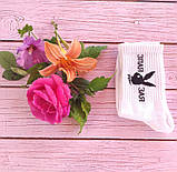 Белые котоновые носки 35-41 ORIGINAL с надписью Злая зая, фото 2
