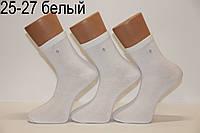 Мужские носки средние с хлопка 200 MONTEBELLO НЛ 25-27 белый