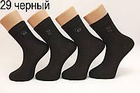 Мужские носки средние стрейчевые Стиль Люкс п/э НЛ 29 черный