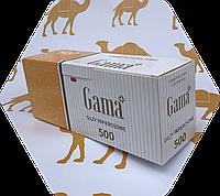 Гильзы для сигарет Gama 500 шт Сигаретные гильзы
