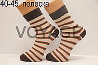 Носки стрейчевые с рисунком НЛ 40-45  полоска