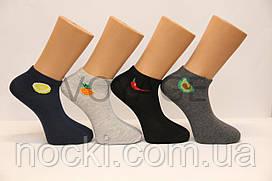 Мужские носки короткие классика Ф3   фрукты