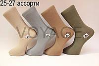 Мужские носки высокие стрейчевые  СТИЛЬ 25-27 ассорти