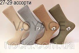 Мужские носки высокие стрейчевые Житомир бизнес класс 27-29 ассорти