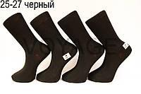 Чоловічі шкарпетки високі стрейчеві Житомир бізнес клас 25-27 чорний