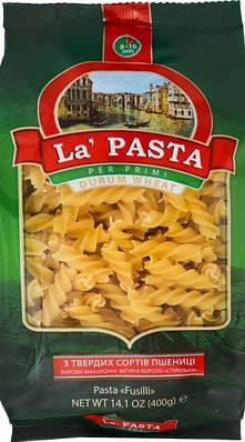 Спиралька La Pasta с твёрдых сортов 400 грамм