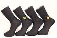 Мужские носки высокие с хлопка,усиленные пятка и носок Milano GOLD №30 41-44 синий