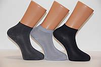 Чоловічі шкарпетки короткі з бамбука ф 14 40-44 асорті
