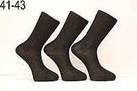 Мужские носки высокие с шелка DILEK 41-43 черный