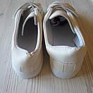 Белые кеды на липучках женские білі кеди жіночі, фото 7