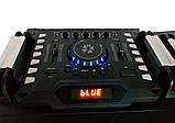 Комплект потужної акустики Ailiang c радіомікрофонами UF-6623 500W (USB/FM/Bluetooth) Пара, фото 2