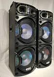 Комплект потужної акустики Ailiang c радіомікрофонами UF-6623 500W (USB/FM/Bluetooth) Пара, фото 3