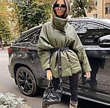 Куртка женская эко кожа весна-осень  42-44 44-46 рр., фото 2