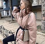 Куртка женская эко кожа весна-осень  42-44 44-46 рр., фото 3