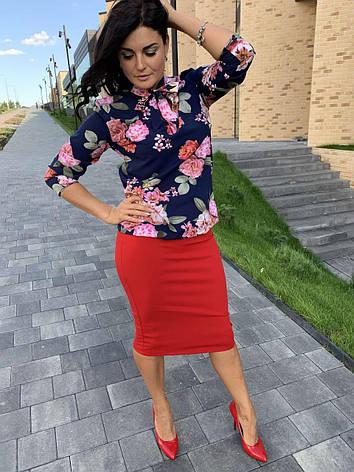 Женский костюм (блуза+юбка), фото 2