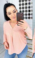 Блуза 852558/1 50/52 пудра