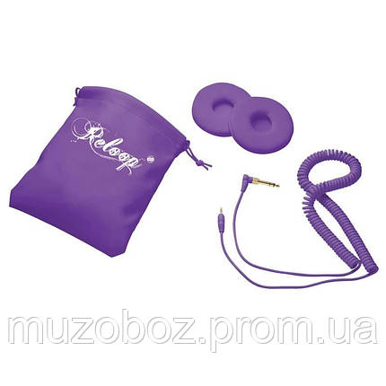 Наушники для DJ Reloop RHP-10 Purple Milk, фото 2