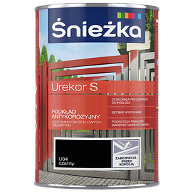 Антикоррозийная грун краска Sniezka UREKOR S Черный 10л (PL)
