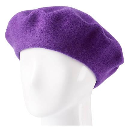 Берет женский Marmilen Tonak Flora Super фиолетовый   ( FS140610 m ), фото 2