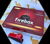 Набор Сигаретные гильзы FIREBOX 1000 шт + машинка для набивки (гильзы для сигарет)