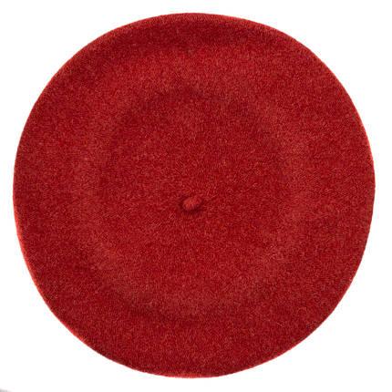 Берет женский Marmilen Tonak Flora Super Melange красный  ( FSM330978 m ), фото 2
