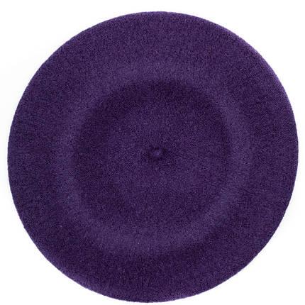 Берет женский Marmilen Tonak Flora Super фиолетово баклажанный   ( FS040472 m ), фото 2