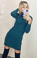 Платье-гольф на осень из ангоры