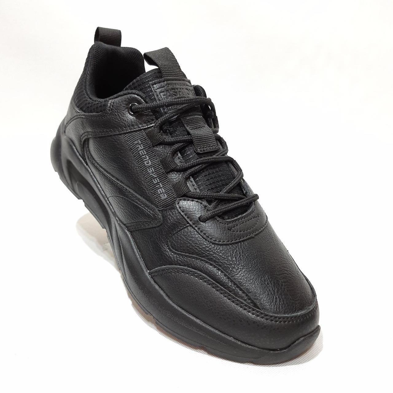 44,45 р  Мужские кроссовки Restime Рестайм Черные