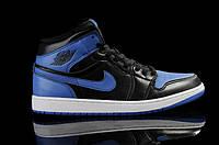 Мужские баскетбольные кроссовки Nike Air Jordan  Retro Black Blue