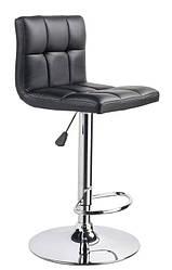 Стульчик  визажный высокий регулировка высоты барный стул с подставкой Дан