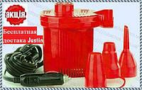 Насос компрессор электрический для матрасов Турбинка 12V АС 401, фото 1