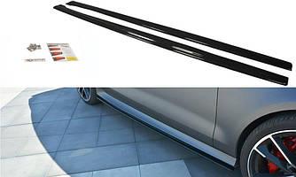 Пороги Audi RS7 C7 рестайл тюнінг обвіс спліттер спідниця