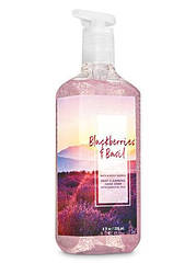 Жидкое мыло-гель для рук Bath and Body Works BLACKBERRY BASIL Gentle Foaming Hand Soap 236 мл с дозатором