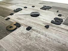 """3D часы настенные средние """"DIY Clock"""" от 60 до 120см Black цвет черный (8516-014), фото 3"""
