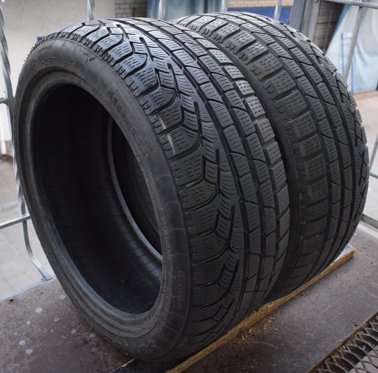 Шины б/у 225/45 R17 Pirelli Winter 210 Sottozero, 6 мм, пара