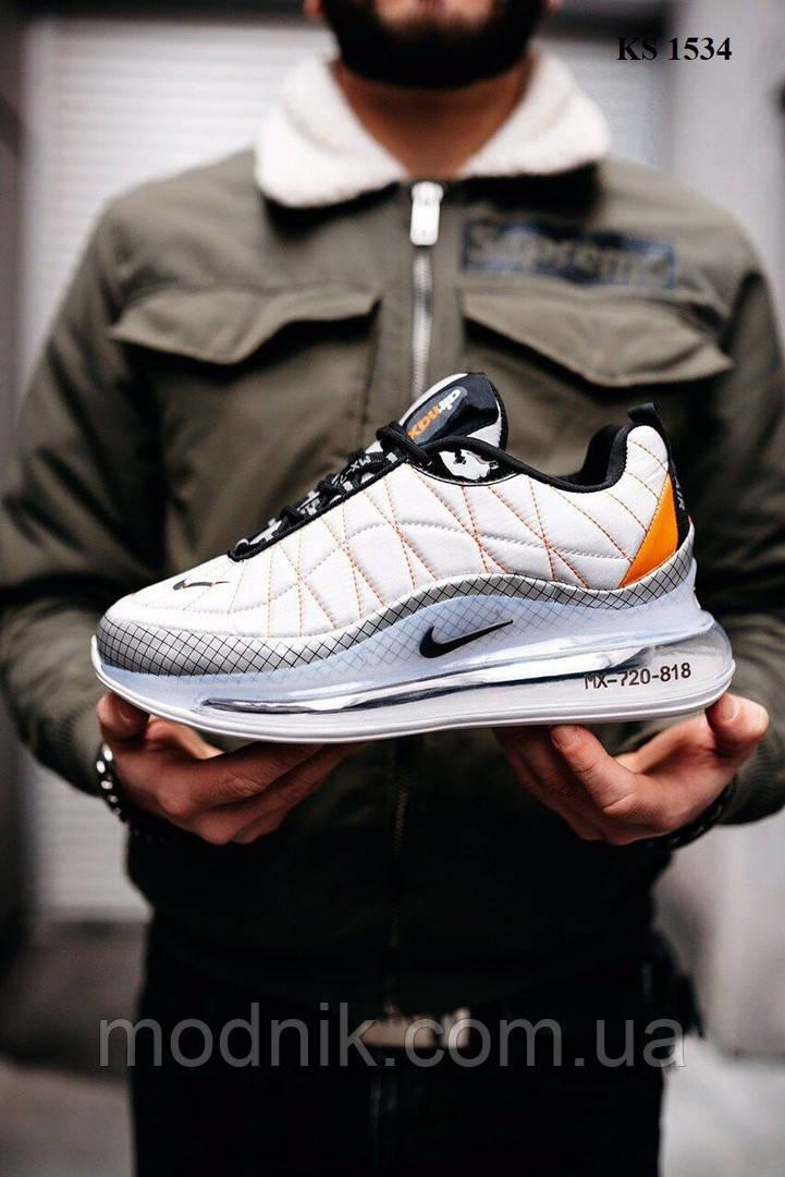 Мужские кроссовки Nike Air Max AM720-818 (белые) KS 1534