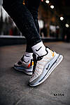 Мужские кроссовки Nike Air Max AM720-818 (белые) KS 1534, фото 5