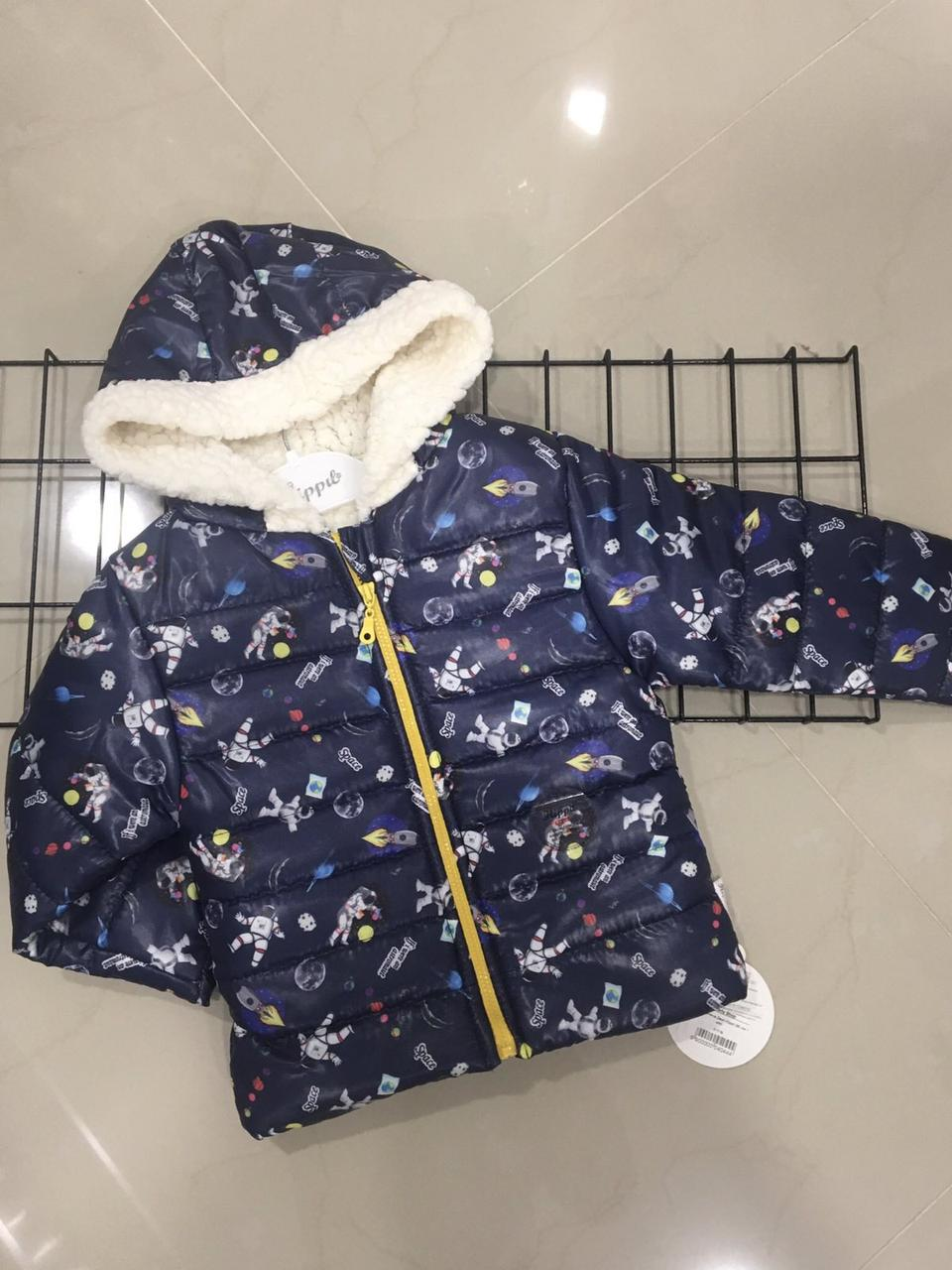 Детская демисезонная курточка для мальчика(на рост 92 см))