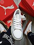 Жіночі кросівки Puma Han Kjobenhavn White/Grey (біло-сірі) 510GL, фото 4