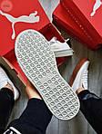 Жіночі кросівки Puma Han Kjobenhavn White/Grey (біло-сірі) 510GL, фото 5