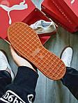 Жіночі кросівки Puma Han Kjobenhavn White/BROWN (біло-коричневі) 497GL, фото 5