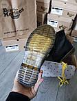 Мужские демисезонные ботинки Dr. Martens (без меха) черные 512GL, фото 3