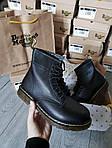 Мужские демисезонные ботинки Dr. Martens (без меха) черные 512GL, фото 6