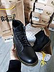 Мужские демисезонные ботинки Dr. Martens (без меха) черные 512GL, фото 7