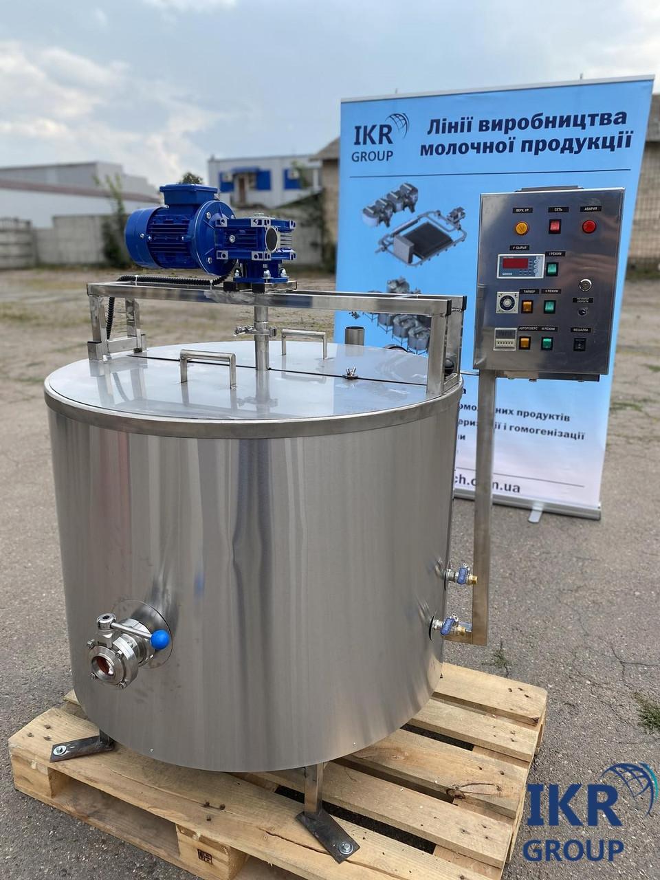 Сыроварня 300 литров / Варочный котел-сыроварня / пастеризатор з нержавейки для производства сыра новая