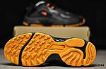 Мужские кроссовки Reebok Dmx (черно/оранжевые) KS 1544, фото 7