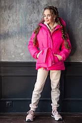Детская Зимняя куртка с капюшоном