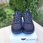 Чоловічі зимові кросівки Columbia Firecamp (чорно-білі) 3542, фото 8