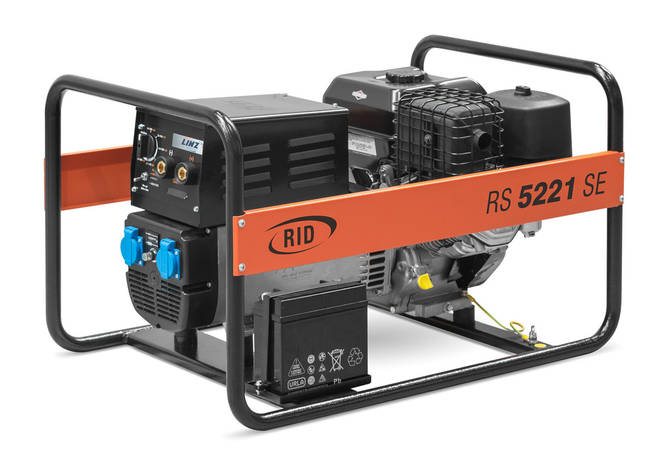 RID RS 5221 SPE (5 кВт) 220А / 4мм, фото 2