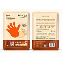 Маска-перчатки для рук BIOAQUA Hand Mask 7+